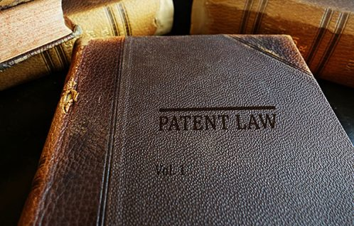Image of a Patent Law book